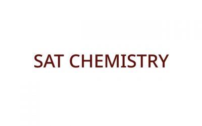 SAT Chemistry