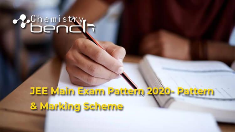 JEE Main Exam 2020 Pattern & Marking Scheme